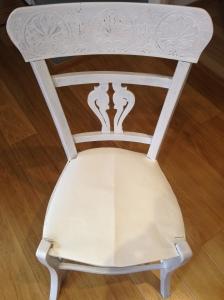 Sagomatura di carta della seduta